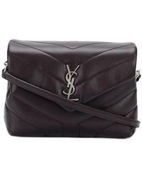 9711dd47935d7 Saint Laurent Classic Large Soft Envelope Bag in Natural - Lyst