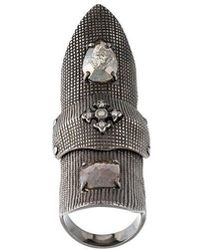 Loree Rodkin - Armour Claw Ring - Lyst