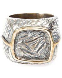 Tobias Wistisen - Bronze Square Ring - Lyst