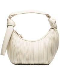 Neous Leather Neptune Hobo Bag - White