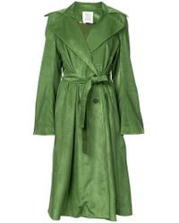 Rosie Assoulin - Double Breasted Trench Coat - Lyst
