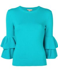 Michael Kors - Double Bell Sleeves Sweater - Lyst