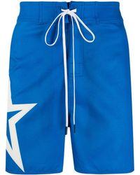 Perfect Moment Super Star Board Shorts - Blue
