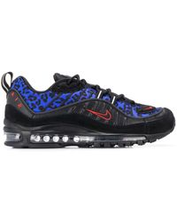 Nike Air Max 98 Premium Animal Sneakers - Zwart