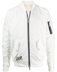 Unravel Project グラフィック ボンバージャケット - ホワイト
