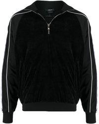 Versace メデューサパネル トラックトップ - ブラック