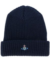 Vivienne Westwood - Embroidered Orb Beanie - Lyst