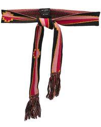 Etro - Knitted Belt - Lyst