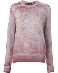 Diesel Black Gold Sulphur-treated Knitted Sweater - Pink