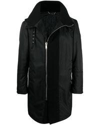Les Hommes Легкое Пальто - Черный