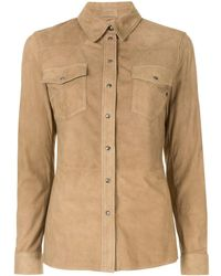 DESA NINETEENSEVENTYTWO Classic Western Shirt - Brown