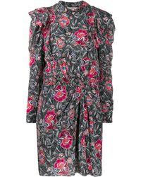 Étoile Isabel Marant Yoana Printed Dress - Black