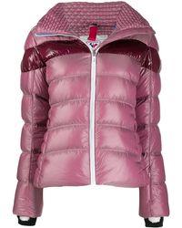 Rossignol ストライプ スキージャケット - ピンク