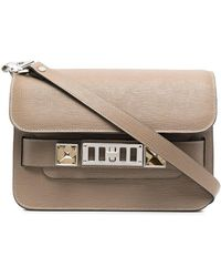 Proenza Schouler Mini Ps11 Satchel Bag - Gray