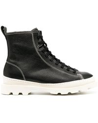Camper Ботинки Brutus На Шнуровке - Черный