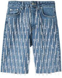 Dalood デニムショートパンツ - ブルー