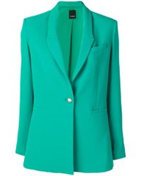Pinko - Single Breasted Blazer - Lyst