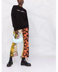 Karl Lagerfeld Pride ロゴ スウェットシャツ - ブラック