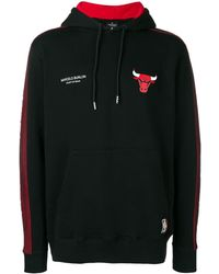 Marcelo Burlon Chicago Bulls パーカー - ブラック