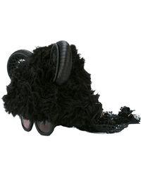 Kuboraum Ears Embellished Sunglasses - Black