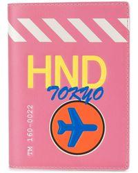 Tila March Hnd Tokyo Passport Cover - Pink