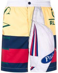Polo Ralph Lauren Shorts Limited Edition - Amarillo