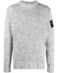 Paul & Shark ロゴパッチ セーター - グレー
