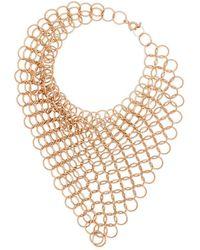 Saskia Diez Plated Chain Bracelet - Metallic