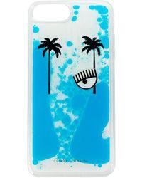 Chiara Ferragni Chiaras Suite Iphone 7 En 8 Plus Hoesje - Blauw