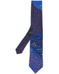 finest selection 246f6 ba7cf Cravatta con stampa paisley - Blu