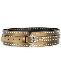 Just Cavalli - Studded Detail Belt - Lyst