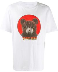 Neil Barrett T-shirt con stampa - Bianco