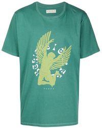 Paura グラフィック Tシャツ - グリーン