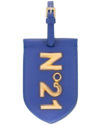 N°21 ロゴ ポーチ - ブルー