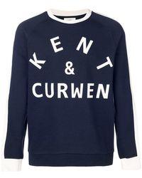 Kent & Curwen - Sudadera con logo estampado - Lyst