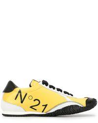 N°21 - ロゴ スニーカー - Lyst