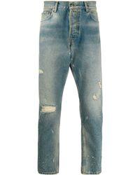 Htc Los Angeles Loose Fit Denim Jeans - Blue