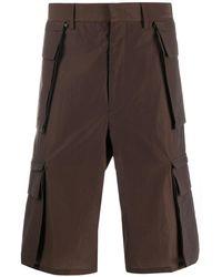 Fendi Knee-length Cargo Shorts - Brown