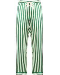 Morgan Lane Chantal Pant In Emerald - Green