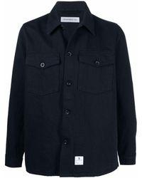 Department 5 シャツジャケット - ブルー