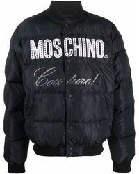 Moschino パデッドジャケット - ブラック