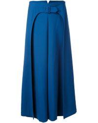 Vilshenko - Belted A-line Skirt - Lyst