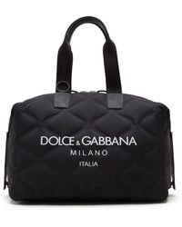 Dolce & Gabbana Дорожная Сумка Palermo С Логотипом - Черный