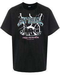 KTZ Thunder Cross Unisex T-shirt - Black