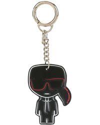 Karl Lagerfeld Брелок С Логотипом - Черный