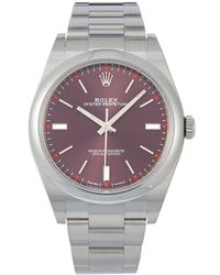 Rolex 2020 Unworn Oyster Perpetual 34mm - Red