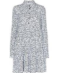 Ganni - Floral Print Dress - Lyst