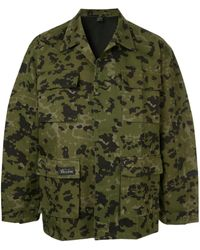 we11done Camouflage Jacket - Green