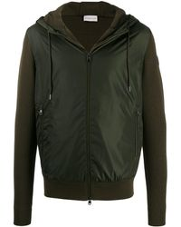 Moncler Maglione Tricot Hooded Cardigan - Green