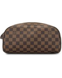 Louis Vuitton Trousse de toilette Damier - Marron